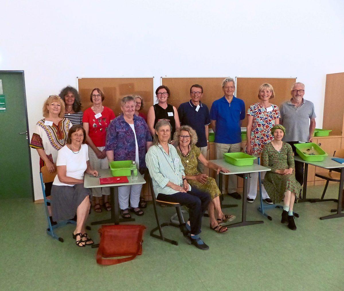 """An der Reuchlinschule in Bad Liebenzell ging es um das Thema """"Stressbewältigung"""". Foto: Stöß"""